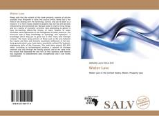 Capa do livro de Water Law