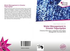 Bookcover of Water Management in Greater Tegucigalpa