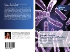 Dietary L-Carnitine Supplementation and Tenebrio molitor Larvae的封面