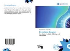 Penelope Boston kitap kapağı