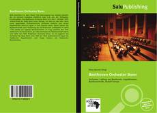 Bookcover of Beethoven Orchester Bonn