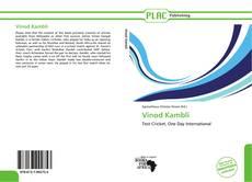 Copertina di Vinod Kambli