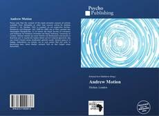 Buchcover von Andrew Motion