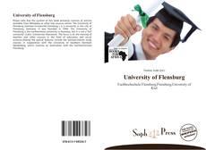 Portada del libro de University of Flensburg