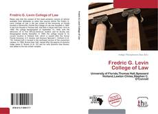 Bookcover of Fredric G. Levin College of Law