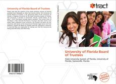 University of Florida Board of Trustees的封面