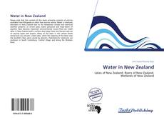 Water in New Zealand kitap kapağı
