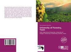 Bookcover of University of Forestry, Yezin