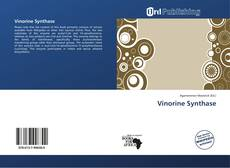 Bookcover of Vinorine Synthase
