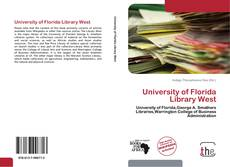 Bookcover of University of Florida Library West