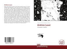 Andrew Lauer的封面