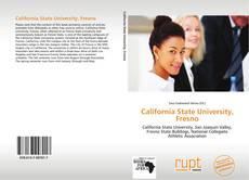 Portada del libro de California State University, Fresno