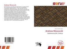 Capa do livro de Andrew Moravcsik