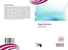 Portada del libro de Roger Bissière