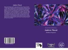 Portada del libro de Andrew Niccol