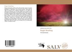 Buchcover von Roger Bowling