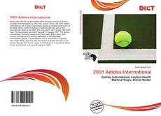 2001 Adidas International kitap kapağı