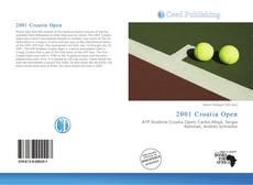Bookcover of 2001 Croatia Open