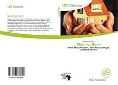 Capa do livro de Melchior Berri