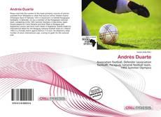 Buchcover von Andrés Duarte