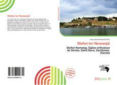 Stefan Ier Nemanjić kitap kapağı