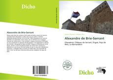 Couverture de Alexandre de Brie-Serrant