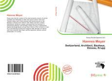 Buchcover von Hannes Meyer