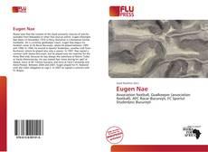 Buchcover von Eugen Nae