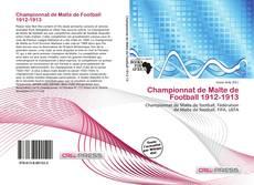 Bookcover of Championnat de Malte de Football 1912-1913