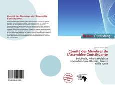 Comité des Membres de l'Assemblée Constituante的封面