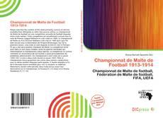 Bookcover of Championnat de Malte de Football 1913-1914