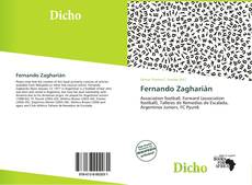 Portada del libro de Fernando Zagharián