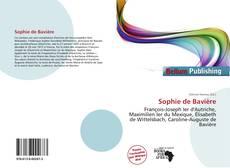 Couverture de Sophie de Bavière
