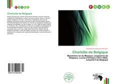 Capa do livro de Charlotte de Belgique
