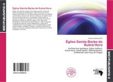Bookcover of Église Sainte-Barbe de Kutná Hora