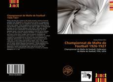 Bookcover of Championnat de Malte de Football 1926-1927
