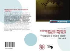 Bookcover of Championnat de Malte de Football 1928-1929