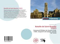 Portada del libro de Bataille de Saint-Quentin (1557)