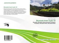 Capa do livro de Brussels tram route 19