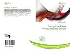 Capa do livro de Georges de Rham