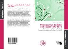 Bookcover of Championnat de Malte de Football 1947-1948