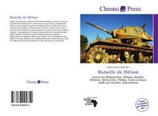 Обложка Bataille de Délion