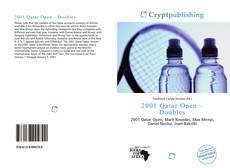 Capa do livro de 2001 Qatar Open – Doubles
