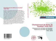 Portada del libro de Championnat de Malte de Football 1950-1951