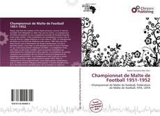 Bookcover of Championnat de Malte de Football 1951-1952