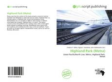 Bookcover of Highland Park (Metra)