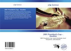 Обложка 2001 President's Cup – Doubles