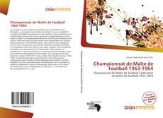 Portada del libro de Championnat de Malte de Football 1963-1964