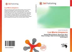 Capa do livro de Luz María Umpierre