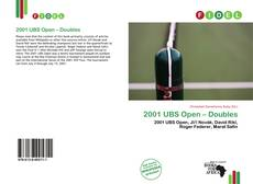Bookcover of 2001 UBS Open – Doubles